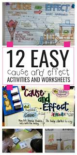 cause and effect essay topics for high school easy cause and  12 easy cause and effect activities and worksheets teach junkie 12 easy cause and effect activities