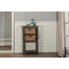 office storage baskets. Hillsdale Furniture Tuscan Retreat Smoke Basket Stand With 2-Baskets Office Storage Baskets