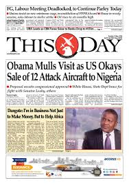 Tuesday May 17th 2016 by THISDAY Newspapers Ltd issuu