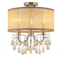 crystorama hampton semi flush in antique brass gold coast lighting regis crystal mount chandelier canada candice light bronze chandeliers funky french