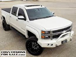 chevy trucks 2014 lifted white. Exellent Trucks White Lifted 2014 Chevrolet Silverado 1500 LTZ  To Chevy Trucks