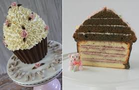 The Prettiest Giant Cupcake Cakes Cake Geek Magazine