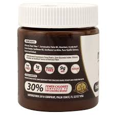 Light Chocolate Spread Nutilight Sugar Free Keto Friendly Hazelnut Spread And Dark Chocolate 11 Ounces Pack Of 1