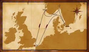 map magic 7 night norwegian fjords cruise dover