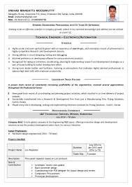 resume hardware engineer