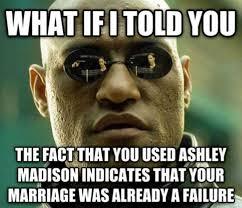 Ashley Madison memes flood the internet after hack leaks user info ... via Relatably.com