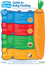 Gerber Food Chart Guide To Baby Feeding Fridge Chart For Baby Nz Baby