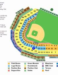 Fenway Park Seating Chart With Rows And Seat Numbers Theatre Seat Numbers Online Charts Collection