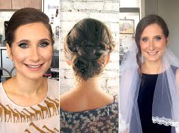 i tried 5 wedding hair and makeup trials and here s what happened self