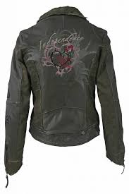 leather jacket red kissing freaky nation army
