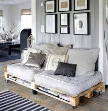 Image Pallet Sofa Pallet Wood Couch And Storage Luvthat Cool Wood Pallet Furniture Ideas Luvthat