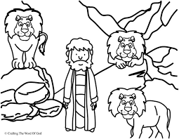 Small Picture Daniel In The Lions Den Coloring Page Crafting The Word Of God