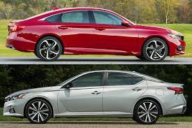 Nissan Altima Comparison Chart 2019 Honda Accord Vs 2019 Nissan Altima Which Is Better