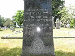 Priscilla Knight (1840-1866) - Find A Grave Memorial