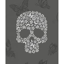 Skull Wallpaper For Bedroom Skull Home Wallpaper Wallpapersafari