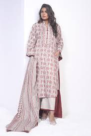 2 Piece Printed Suit With Lawn Dupatta Alkaram Studio