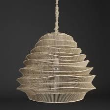 roost bamboo cloud chandelier 3d