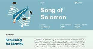 Song Of Solomon Quotes 35 Awesome Song Of Solomon Infographic Course Hero