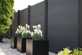 Painted Fences schutting sbnbouwnl garden pinterest black fence planters 1131 by xevi.us