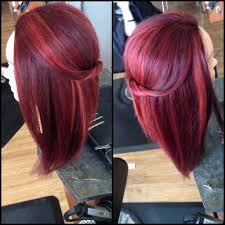 vibrant red multidimensional mulone haircolor with framesi pretty hair color beautiful hair color red