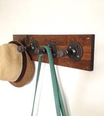 Diy Pipe Coat Rack Reclaimed Wood Pipe Coat Rack Coat racks Pipes and Woods 45