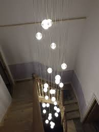 stairwell lighting. Most Up To Date Air Buble Stairwell Lighting : Nice Control Pertaining