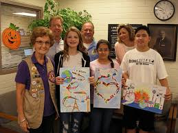 Cross Middle School student wins local peace poster contest | News |  tucsonlocalmedia.com