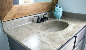 cleaning concrete countertops you can update your bathroom vanity without spending a fortune this vanity update using cleaning concrete countertop stains