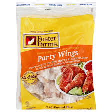 It's been this price since it's arrival; Foster Farms Chicken Wing Sections Party Wings Bag 40 Oz Instacart