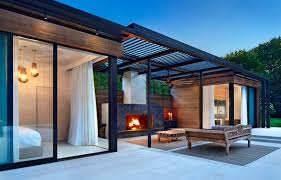 pool house. Modern Pool House Retreat By ICRAVE A