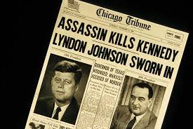 assassination of john f kennedy facts aftermath conspiracy  assassination of john f kennedy united states history the front page of the chicago tribune on 23 1963 the day after