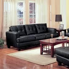 samuel stationary bonded leather sofa 501681 image 1