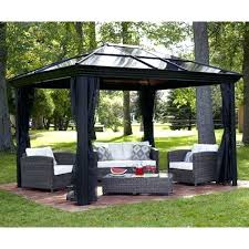 outdoor canopies backyard for canopy gazebo home depot curtains