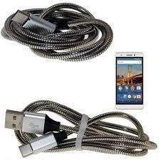 General Mobile GM 5 Plus Şarj Kablosu Çelik Yüzeyli Type C Kablo Fiyatları  ve Özellikleri