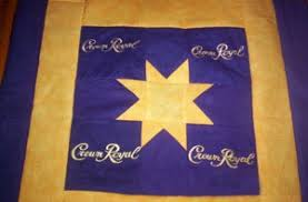 Making Crown Royal Bag Quilts | ThriftyFun & Crown Royal Bag Quilt Adamdwight.com