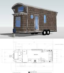 the bohemian mobile tiny house floor plan for building your dream home without spending a fortune