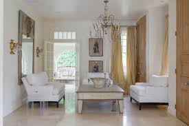 new orleans powder room chandelier living room shabby chic style with gold lighting hooked area rugs limestone flooring