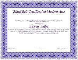 martial arts certificate template martial art certificate template microsoft word templates