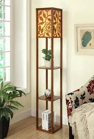floor lamps wood floor lamp with tray wooden floor lamp with shelves wood floor lamp