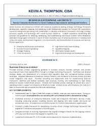 Resume Enterprise Architect Free Resume Example And Writing Download