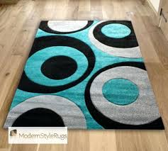 red black and grey rugs teal area rug aqua blue swirls with funky