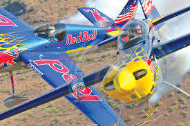 l to r kirby chambliss is piloting the single place red bull edge 540
