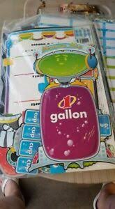 Details About Educational Poster Gallon Man And Chart