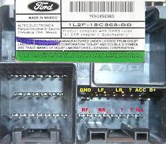 ford car radio stereo audio wiring diagram autoradio connector 1996 Ford Radio Wiring Diagram ford car radio stereo audio wiring diagram autoradio connector wire installation schematic schema esquema de conexiones stecker konektor connecteur cable radio wiring diagram for 1996 ford f150