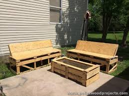 pallet outdoor furniture plans. pallet wood outdoor furniture ideas designs plans i
