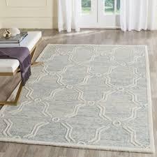 safavieh cambridge light blue ivory 5 ft x 8 ft area rug