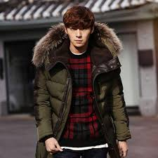 fg1509 2016 men s parkas jacket winter jacket men fashion thickening fur hooded army green down jacket mens puffer jacket outwear s l mans coats cream