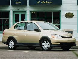 Toyota Echo technical specifications and fuel economy