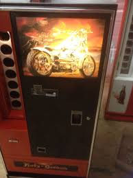 Harley Davidson Vending Machine Amazing VINTAGE COKE Harley Davison Vendo 48 VENDING MACHINE RESTORED