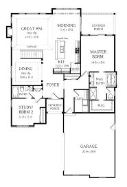 Modern 2 Bedroom House Plans Modern 2 Bedroom House Plan Throughout 2 Bedroom House Plan